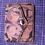 Thumbnail: ONLY ONE ITEM - Leather Marble wallet Business Card Holder, Credit card holder,