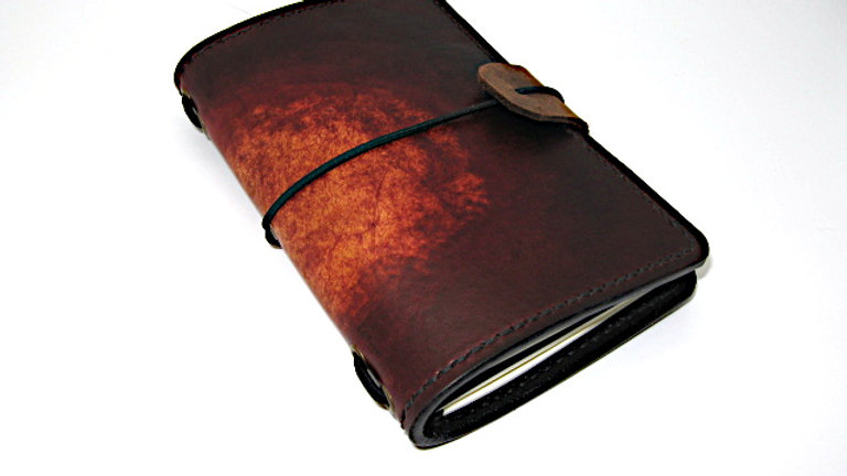 """Midori Field Notebook style for (9x14cm, 3½x5½"""" Notebook) Lined Stitched"""