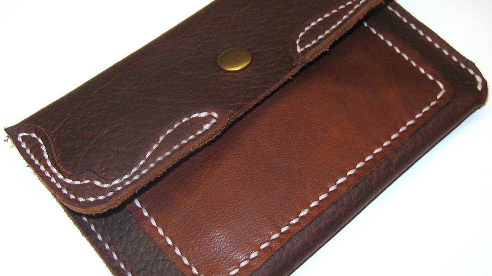 Leather Passport Wallet, Leather Travel Wallet, Passport Holder Kodiak