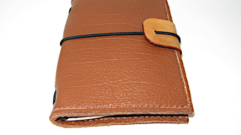 Leather Midori Passport Traveller's Notebook Cover (Spanish Brown) Lined