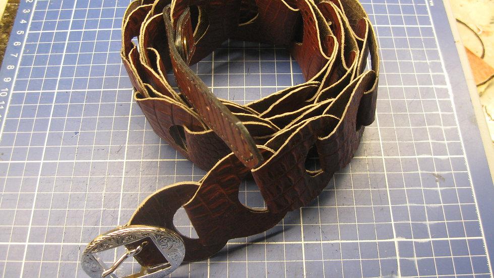 Handmade Fashion Link Belt for Women (Adjustable)