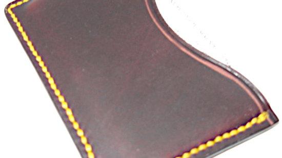 Badalassi Carlo Leather Minimalist Wallet, Leather ID wallet, Leather card