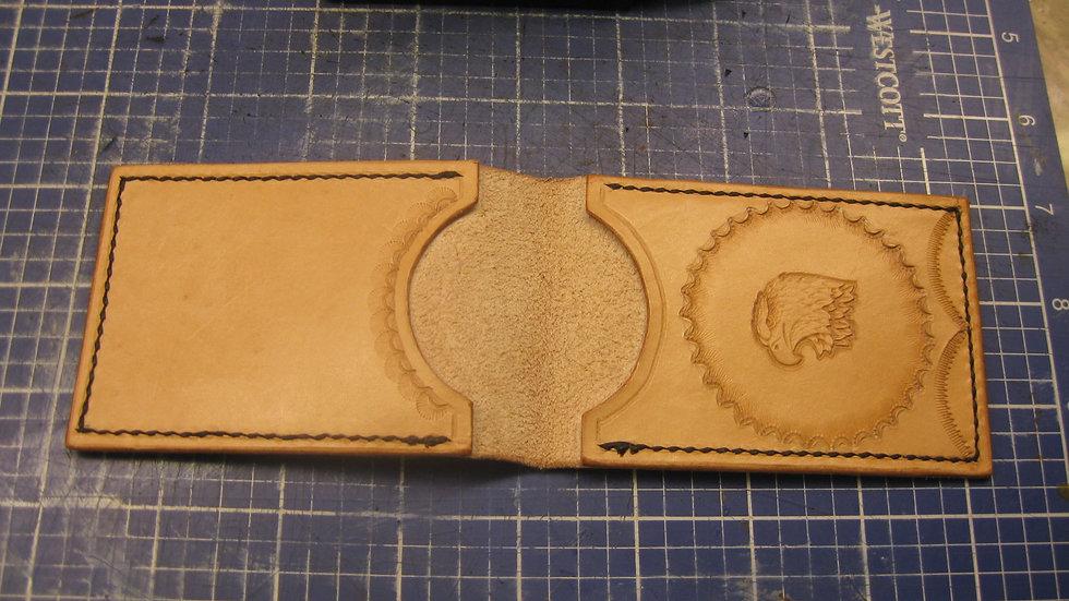 Flip Wallet Elegant Handmade Leather Card Holder, Credit card holder