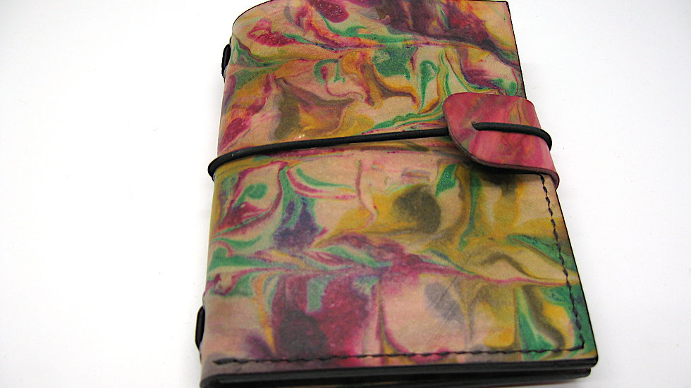"Leather Midori Passport Traveller's Notebook Cover (9x12.5 cm, 3 1/2 x 5"") (Mosa"
