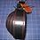 "Thumbnail: Stylish Heavy Duty 1-1/2"" rugged leather belt, Leather Black Belt Stitched all t"