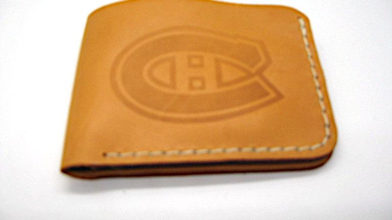 Montréal Canadiens Team Big Leather wallet, 5 pockets Wallet