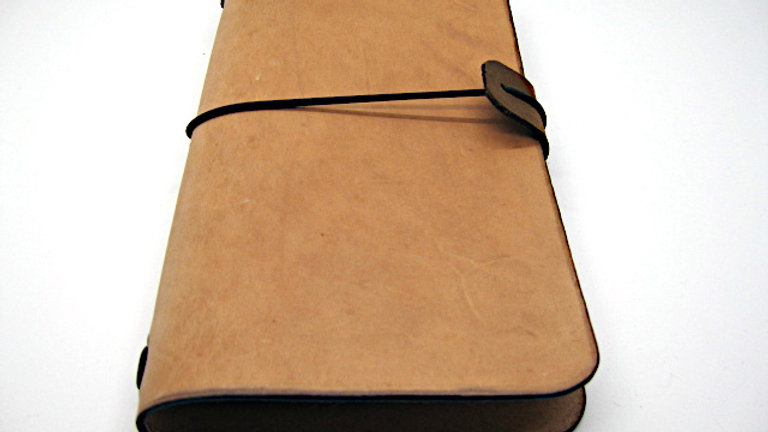 """Leather Midori style Traveller's Notebook for (11x21cm, 4¼x8¼"""")"""