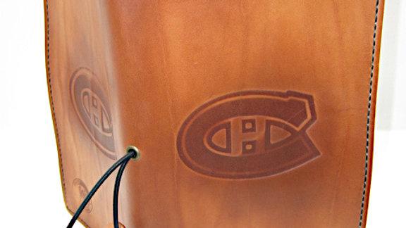 "Montréal Canadiens Team Traveller's Notebook (11x21cm, 4¼x8¼"") Lined Stitched"