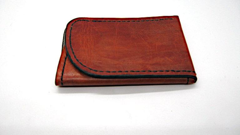 Minimalist Wallet RFID Blocking, Wallet Business Card Holder, Leather ID