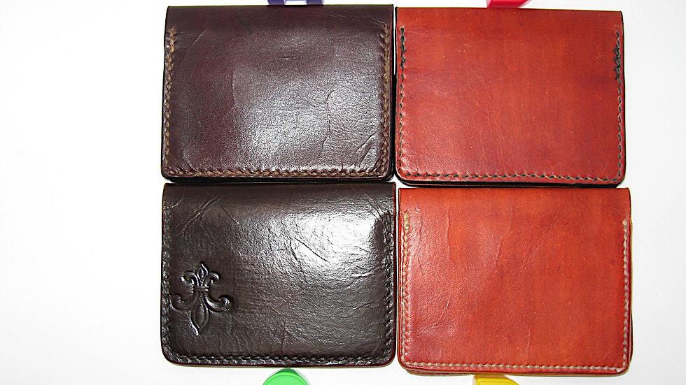 Elegant Handmade Business Card Holder, Credit card holder, 4 Pockets Bi-folder