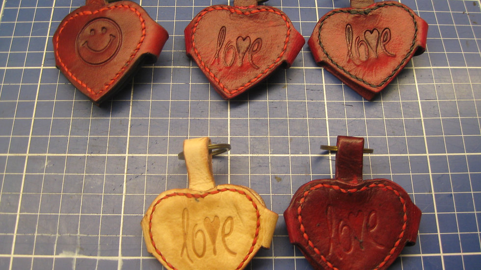 Heart shaped Key holder with a inside insert for a photo of your loved one's