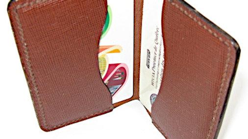 Italian Leather Elegant Handmade Leather Card Holder, Credit card holder
