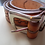 Thumbnail: Handmade Leather Belt with Tooling and heavy duty buckle