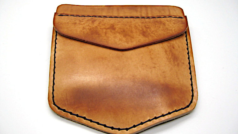 Customize Leather Pocket Protector for your work pants, lab coats, etc