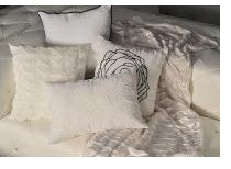 Cushions in White