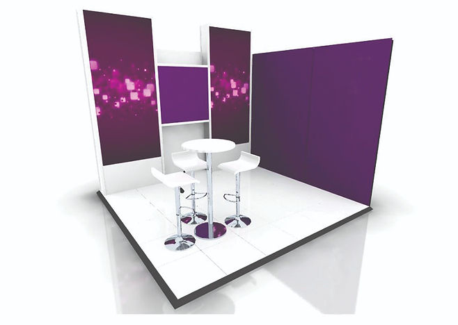 Ultra 3m x 3m Exhibiton stand