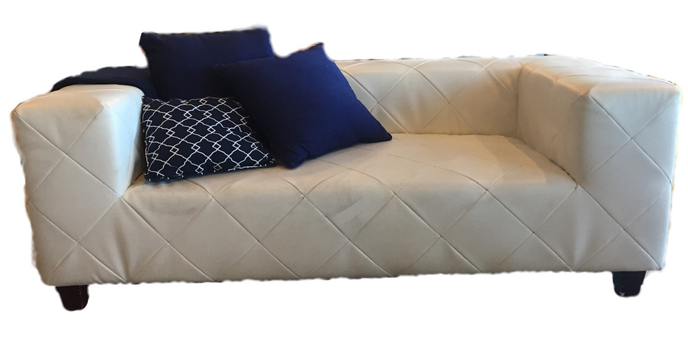 Contemporary Chesterfield two seater