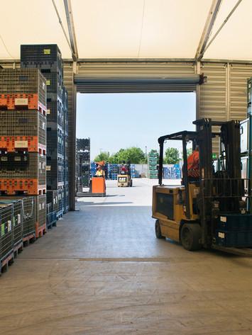 Extra Capacity Warehouse Space.