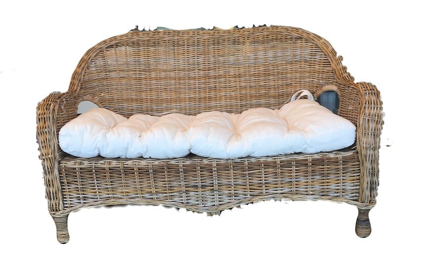 Willow Wicker Two Seater