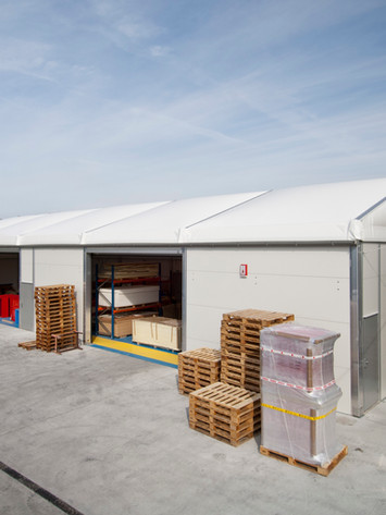 Temporary Warehouse Space.