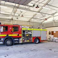 Emergency Vehicle Garage