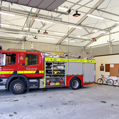 Emergency Vehicle Garage