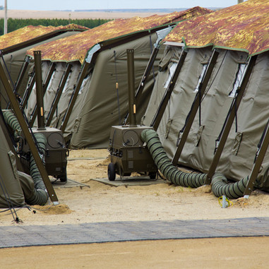 Inflatable Military Tents