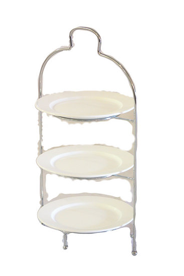 Wrought Iron Plate Stand