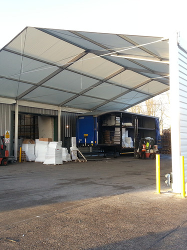 Need an Extra Canopy attached to your Premises?