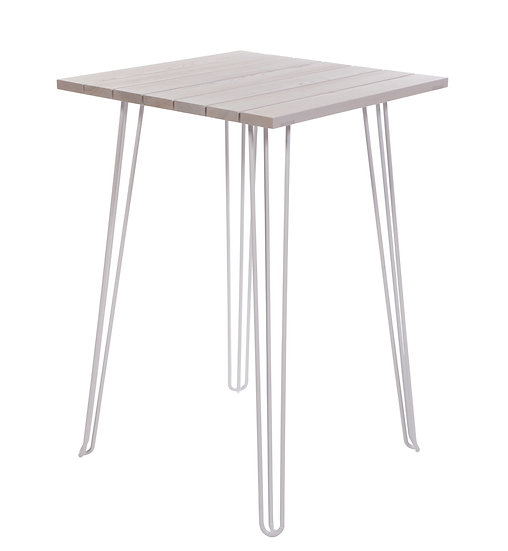 Bedford Bar Table in white