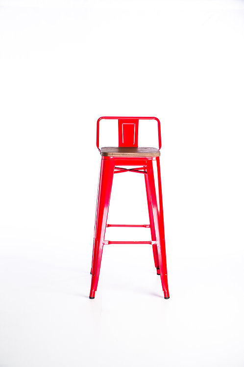 Tolix Stool with back