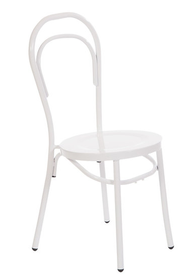 Bentwood Chair in white