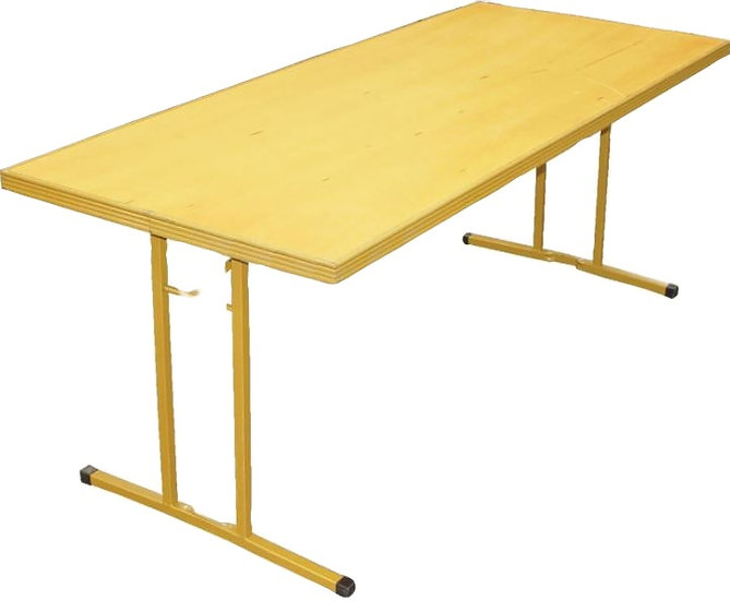 1.2m Rectangle Trestle Table