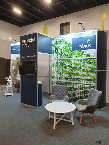 Rentokil exhibition booth