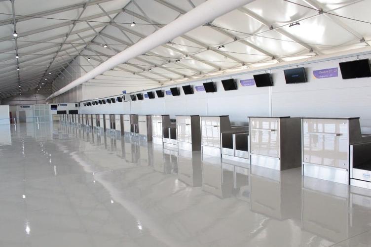 Interior Airport Terminal