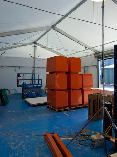 Termporary Workshop Space.