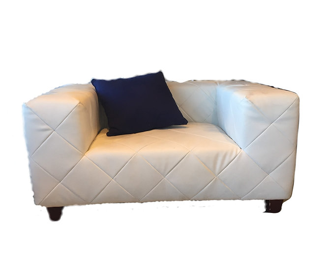Contemporary Chesterfield one seater