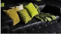 Cushions in green