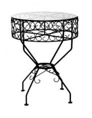 Wrought Iron Cake Table