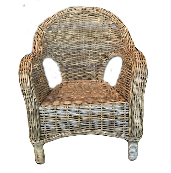 Willow Wicker Outdoor Arm Chair