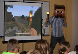 Storytelling with Minecraft!