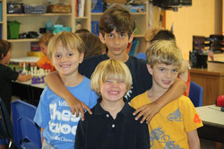 Best buddies hanging out at Camp!