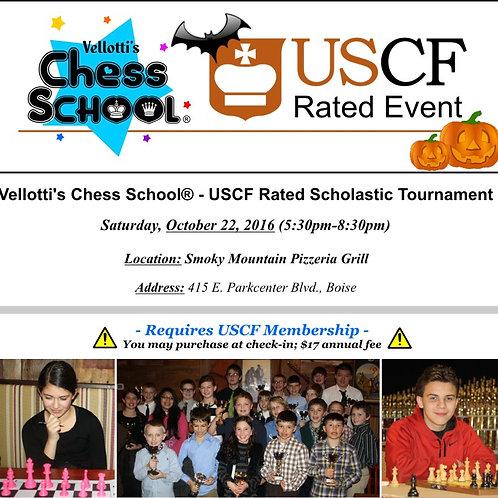 Vellotti's USCF Scholastic Rated Tournament