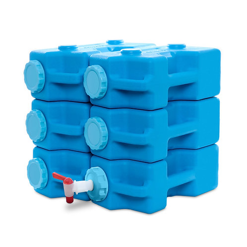 AquaBrick™ Food and Water Storage Container 6-Pack (Filters Sold Separately)