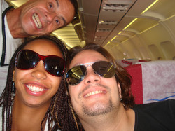 Vanessa e CJ - Aviao.JPG