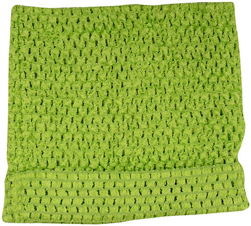 TuTu Crochet Top - Lime Green