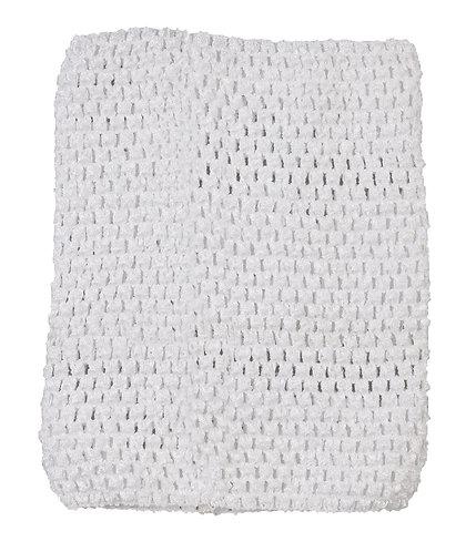 TuTu Crochet Top - White