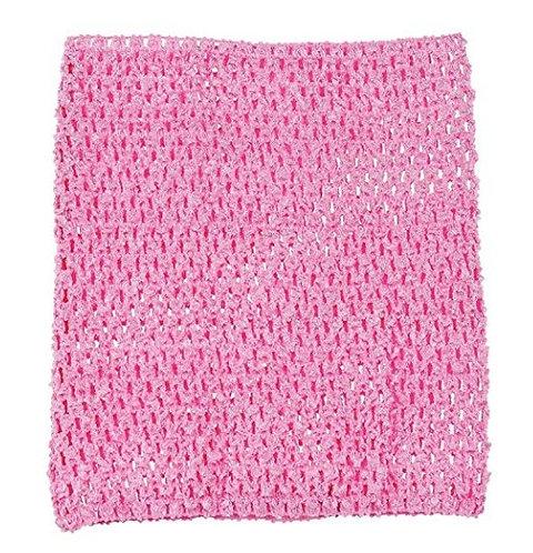 TuTu Crochet Top - Light Rose Pink