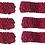 Thumbnail: Knit Crochet Stretchy headband Assorted Pack 6