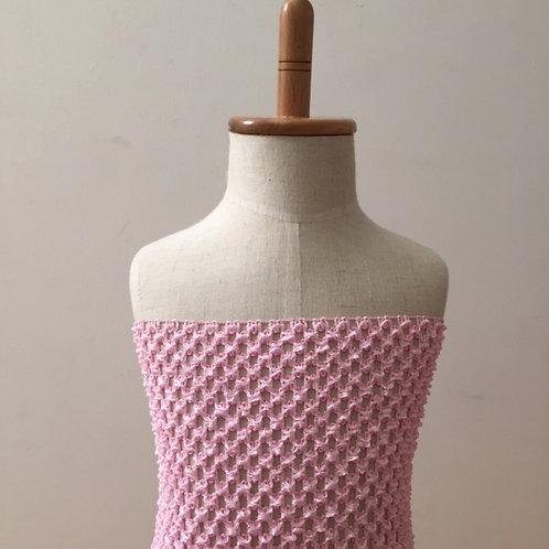 TuTu Crochet Top - Baby Pink